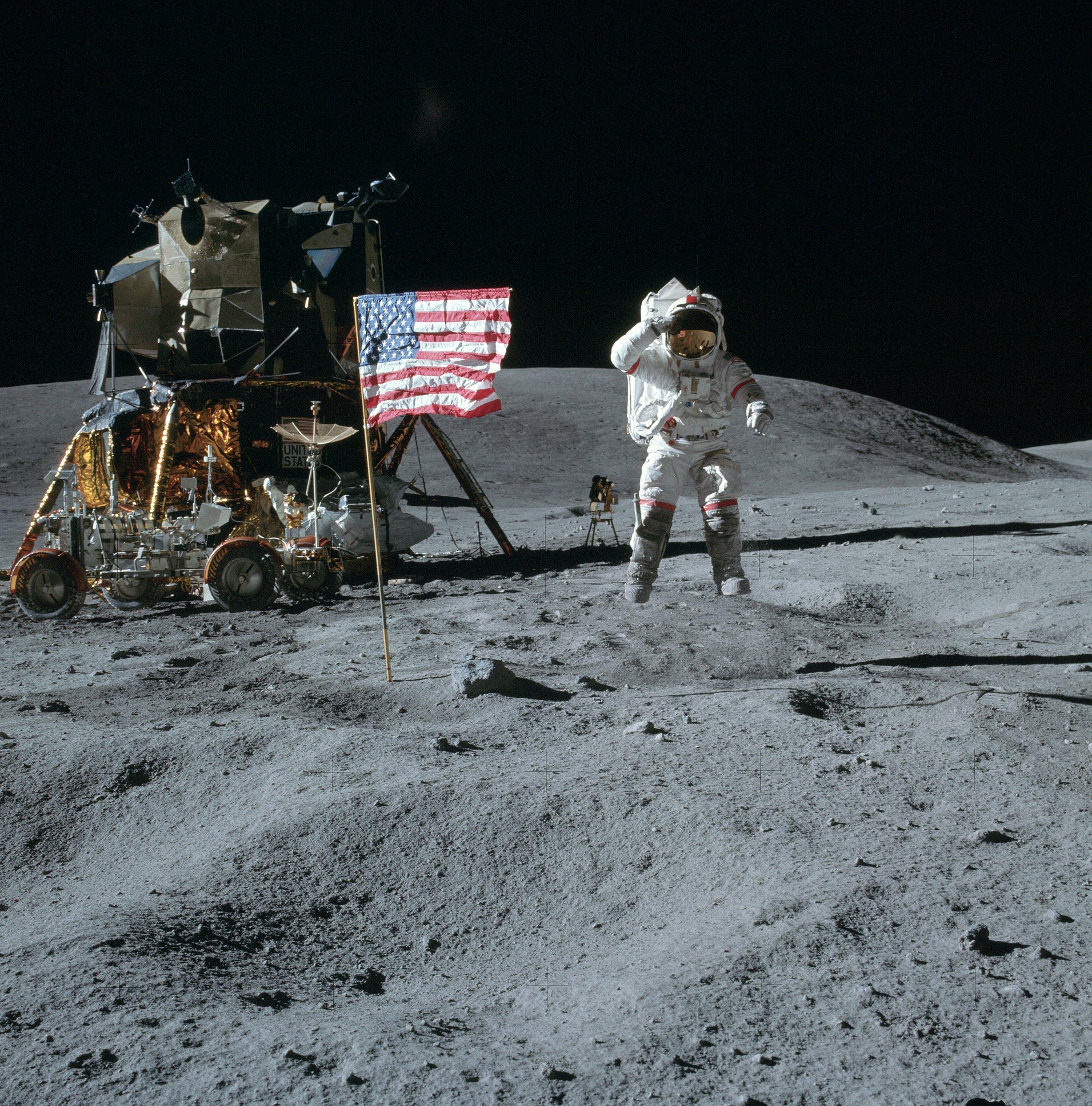 Mondlandung Verschwörung
